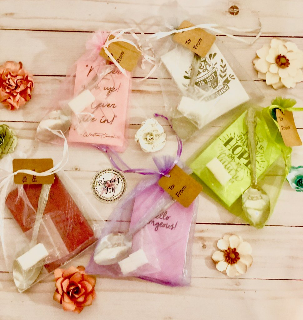 Tea Party Favors with Sugar Cubes