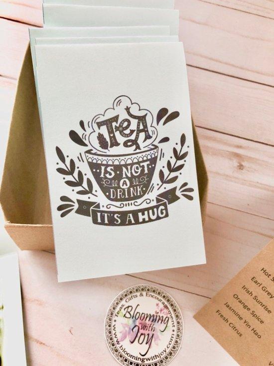 Tea a Hug in a Cup Tea Sampler