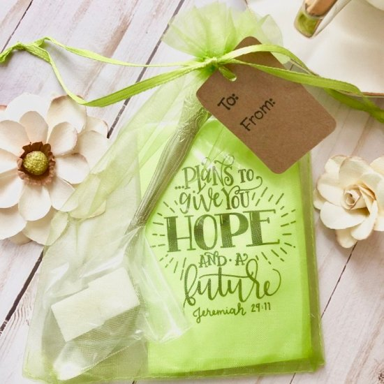 Scripture Gives me a hope and a future small gift