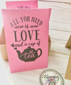 All you need is love and a cup of tea