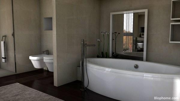 Un dormitorio en suite BlopHome