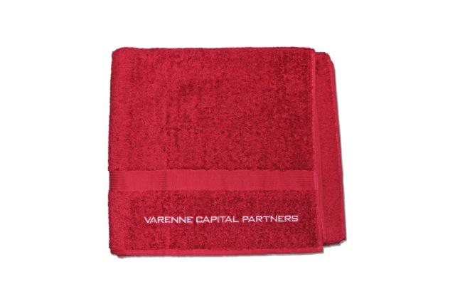 Serviettes de bain brodée – Varenne Capital