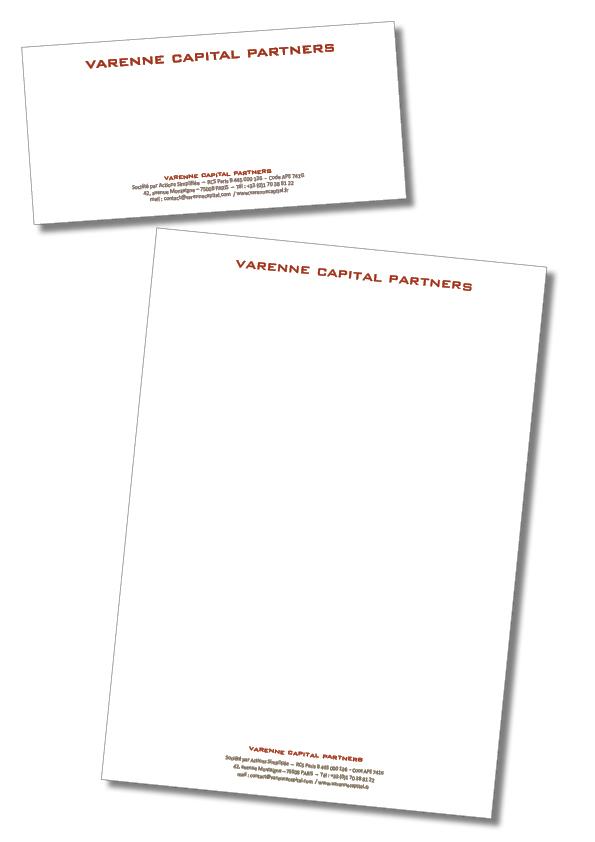 Charte graphique – Varenne Capital