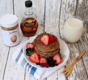 Vegan Pancakes w/ Maca…You'll Love 'Em!