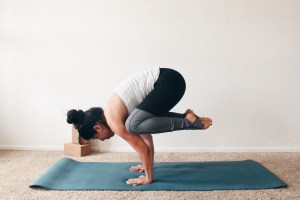5 Yoga Poses for Strong Arms + Core    Journey to Fit: Day 11