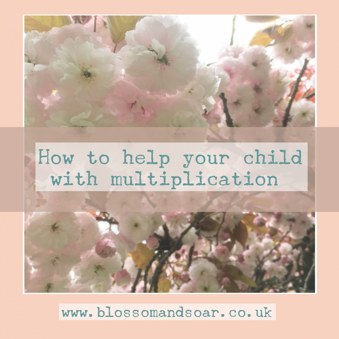 How To Help Your Child With Multiplication Blossom And Soar