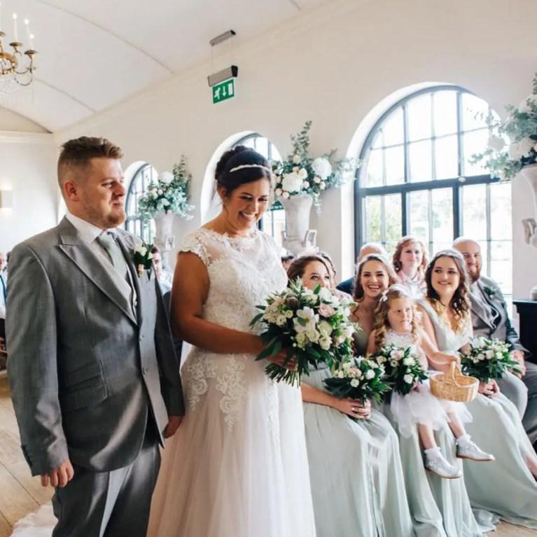 bespoke wedding flower decorations