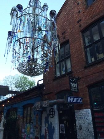 Street chandelier Oslo