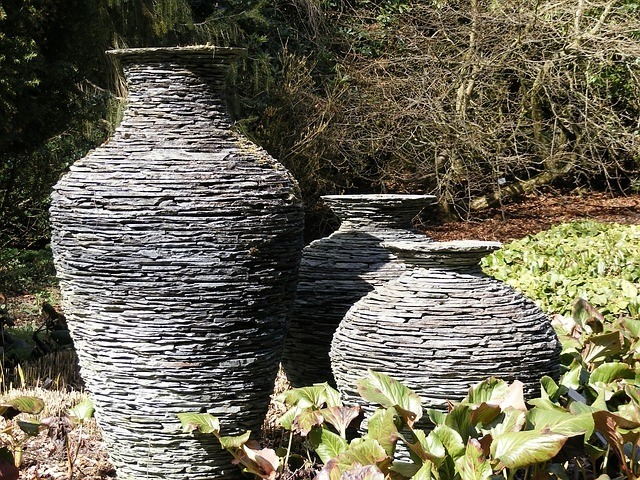 art can define the style of your garden