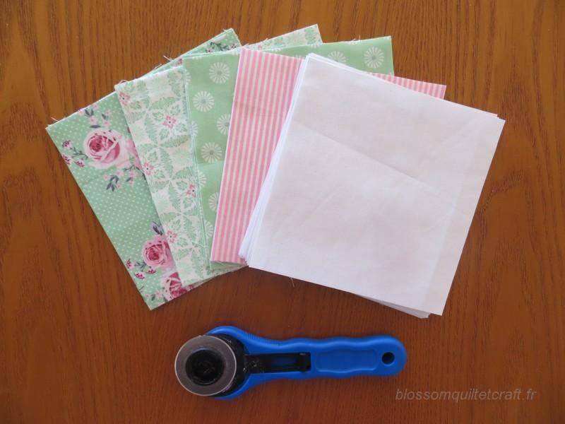 carre de tissu patch