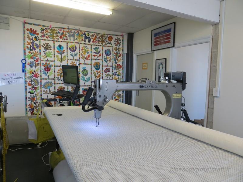 long arm machine