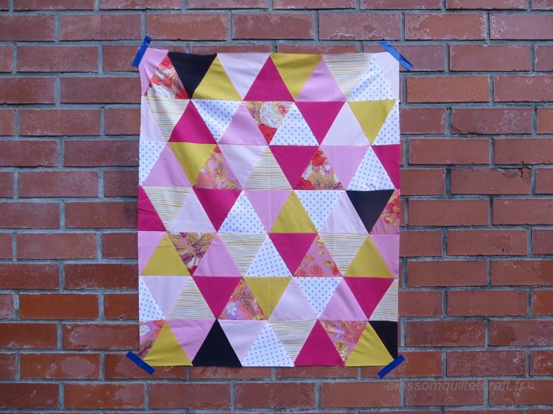 Quilt Triangles équilatéral