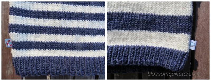 detail tricot etiquette