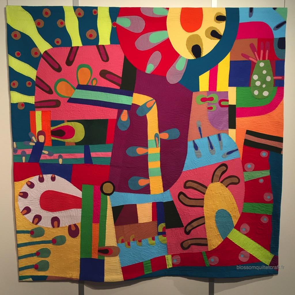 patchwork moderne exposition