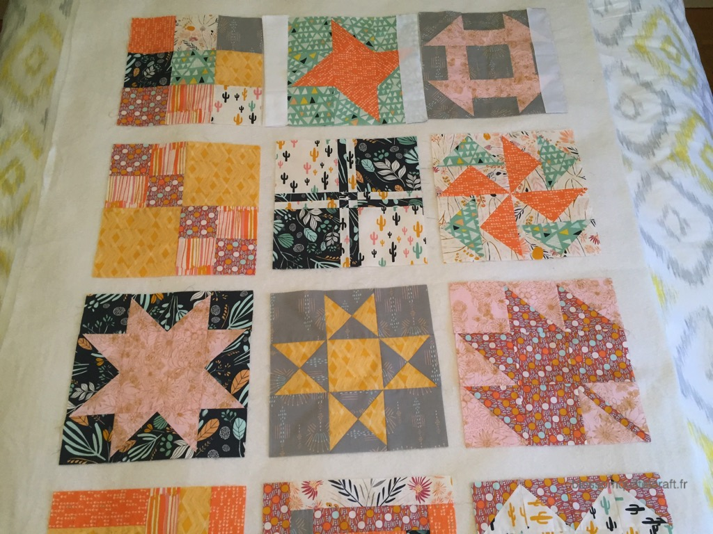 comment coudre un patchwork sampler