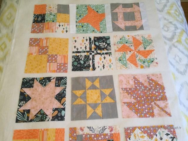 comment coudre un patchwork sampler