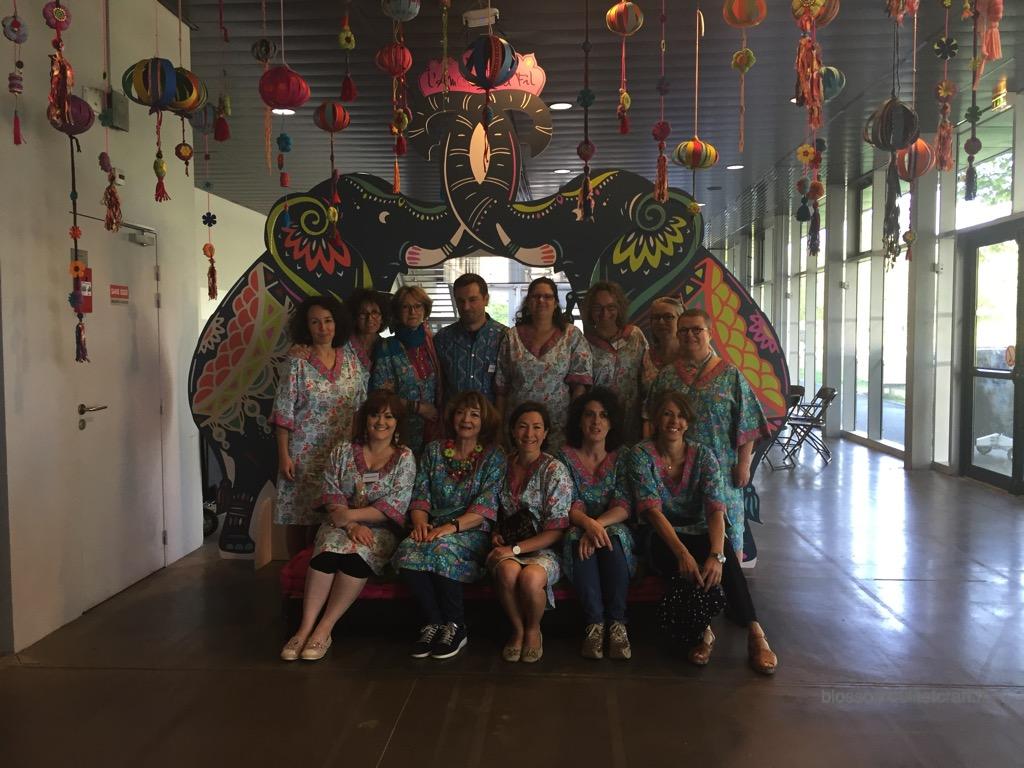 equipe quiltmania pour l'amour du fil