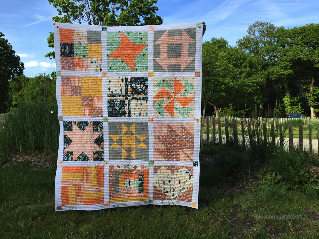 blossom quilt et craft sampler