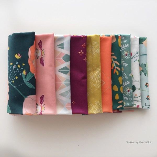 Garden dreamer lot de 10 Fat Quarters