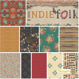 Indie Folk Blossom Quilt et Craft