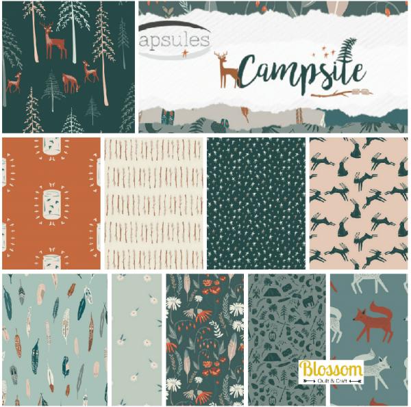 Campsite Blossom Quilt et Craft copie