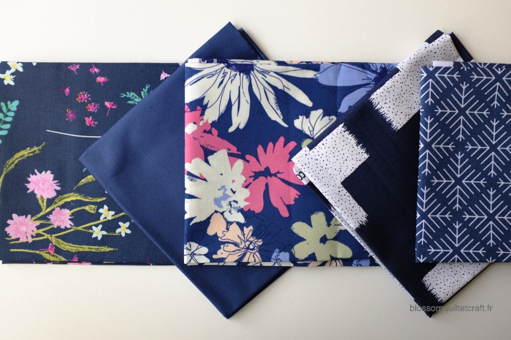 Boite color master 10 tissu patchwork