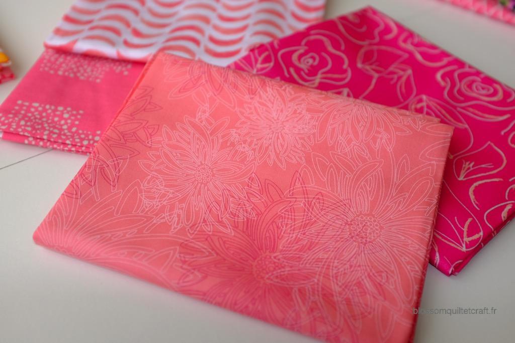 Boite color master 2 tissus pour quilts