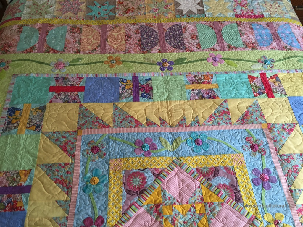 patchwork en groupe