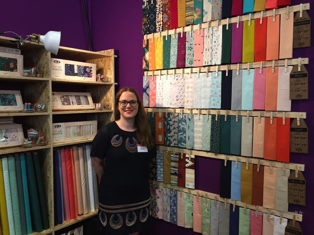Alice et les tissus patchwork