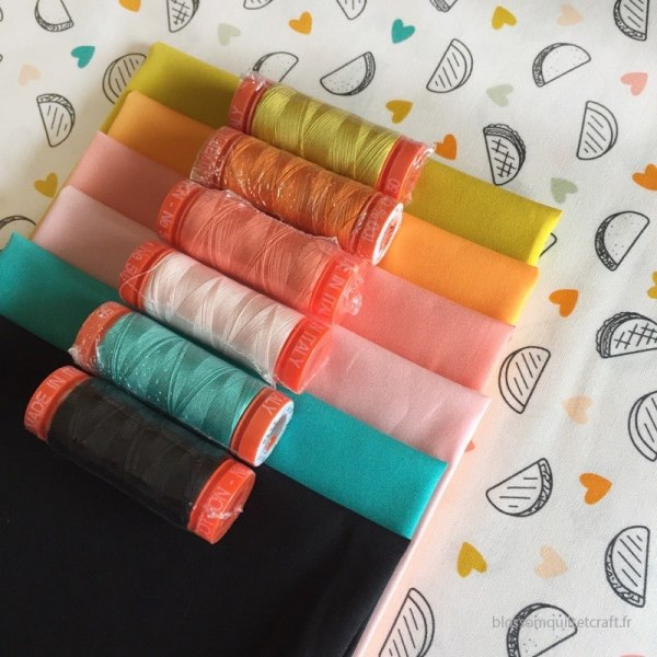 Collection Aurifil pour Day Trip
