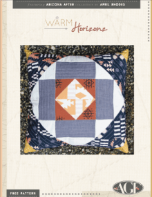 Arizona After coussin patchwork patron gratuit