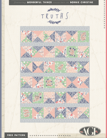 Wonderful Things patrons gratuit patchwork
