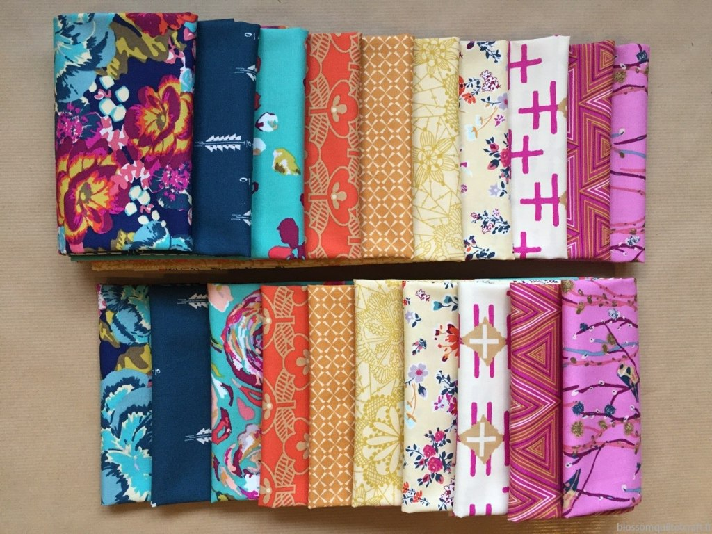 collection boho fusion tissu patchwork