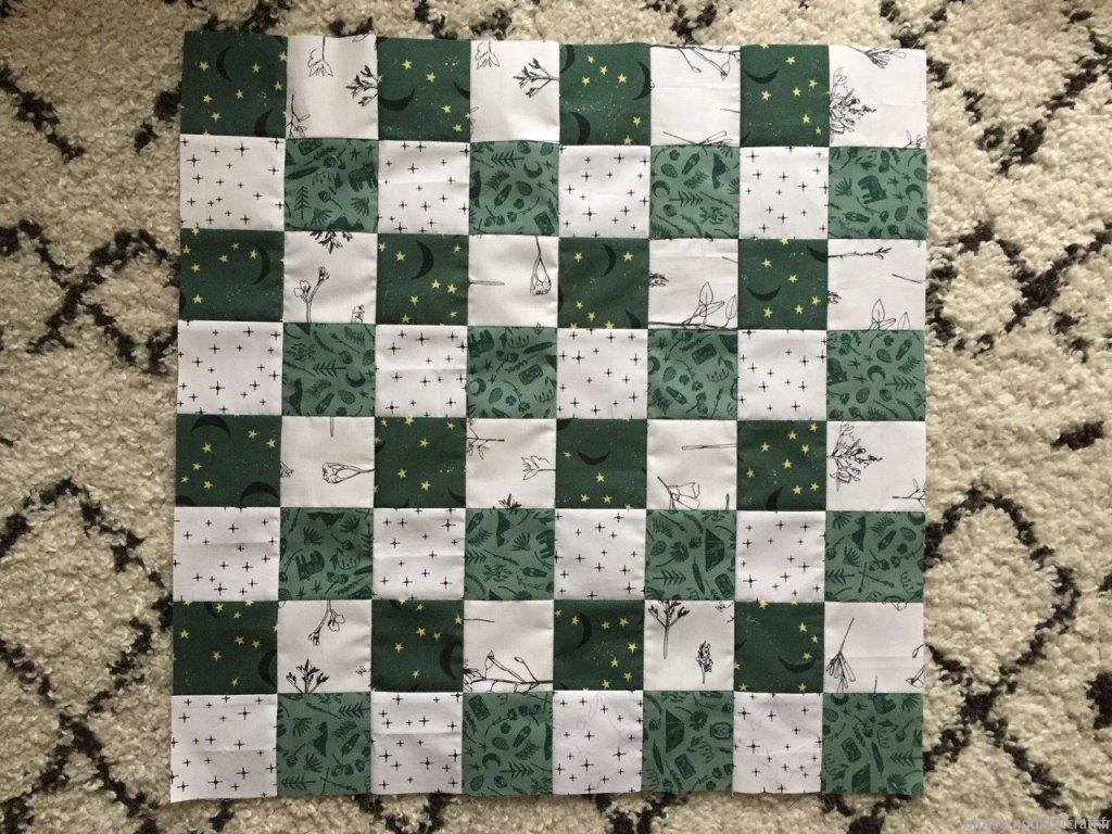 table jeu d'echec en tissu