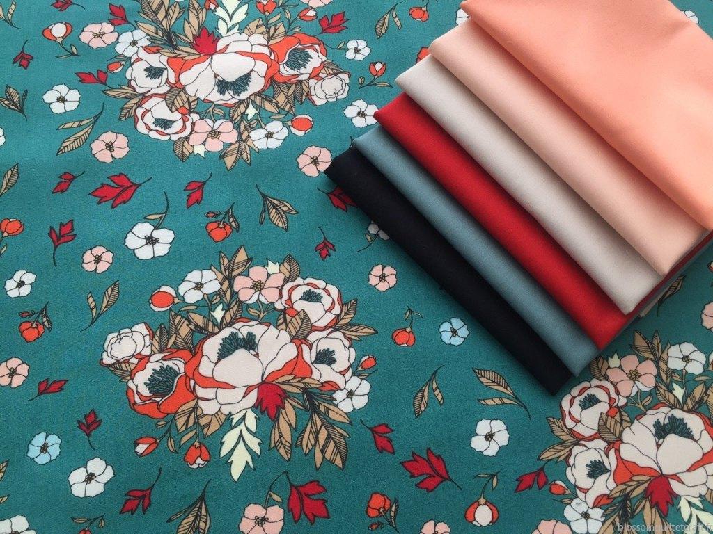 Art Gallery Fabrics Love story Collection unis