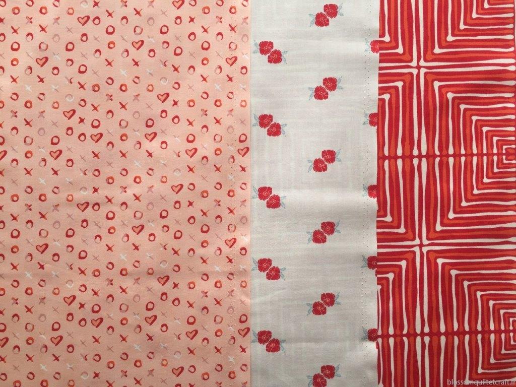 Tissu patchwork moderne art gallery fabrics love story