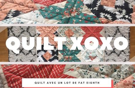 Petit quilt XOXO