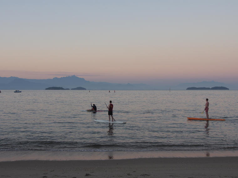 paddle plage paraty