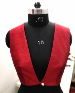 Blouse Guru Women WaistCoat Design 5
