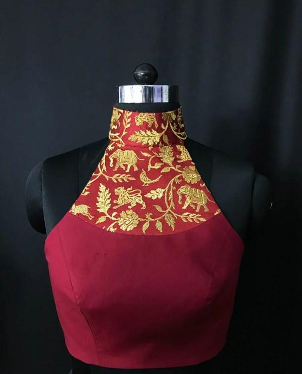 Blouse Guru Designer Blouse 3 Front Sewing Patterns