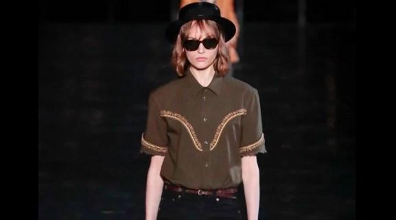 Yves Saint Laurent revisite le New-York des années 70
