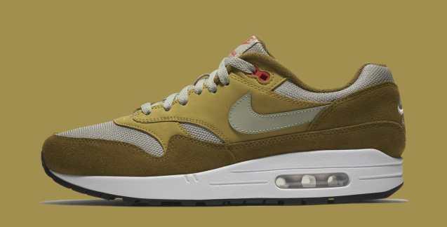 Nike Air Max 1 - Green Curry