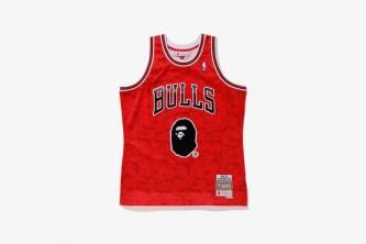 Bape x Mitchell & Ness NBA