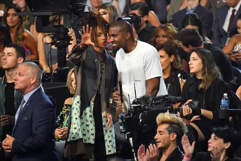Jaden Smith jouera Kanye West dans la série Omniverse