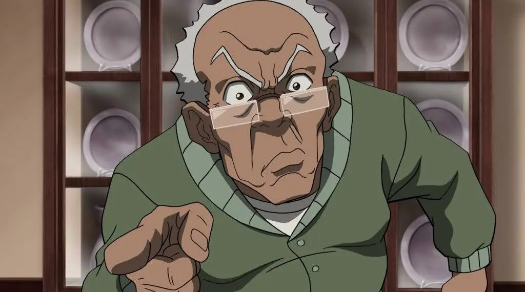 Nouveau design de Robert Freeman dans The Boondocks