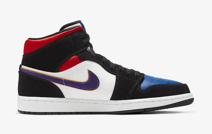"Air-Jordan-1 ""Top 3"" et ""Lakers"""