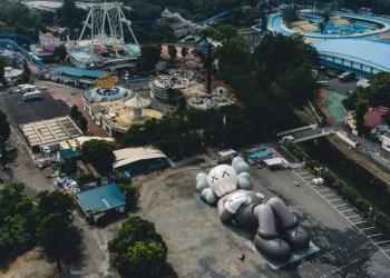 KAWS:HOLIDAY rend hommage au Mont Fuji dans sa dernière exposition
