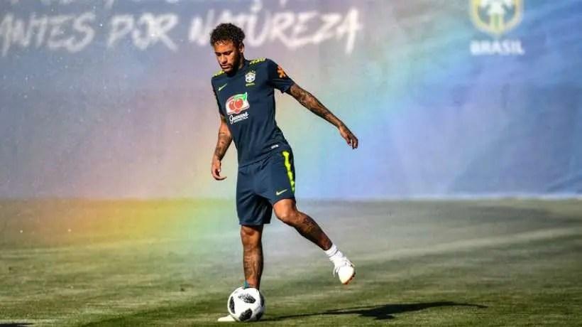 Neymar, forfait