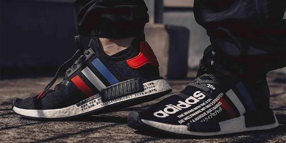 atmos Tokyo & adidas Originals Revisitent les couleurs OG de la NMD R1