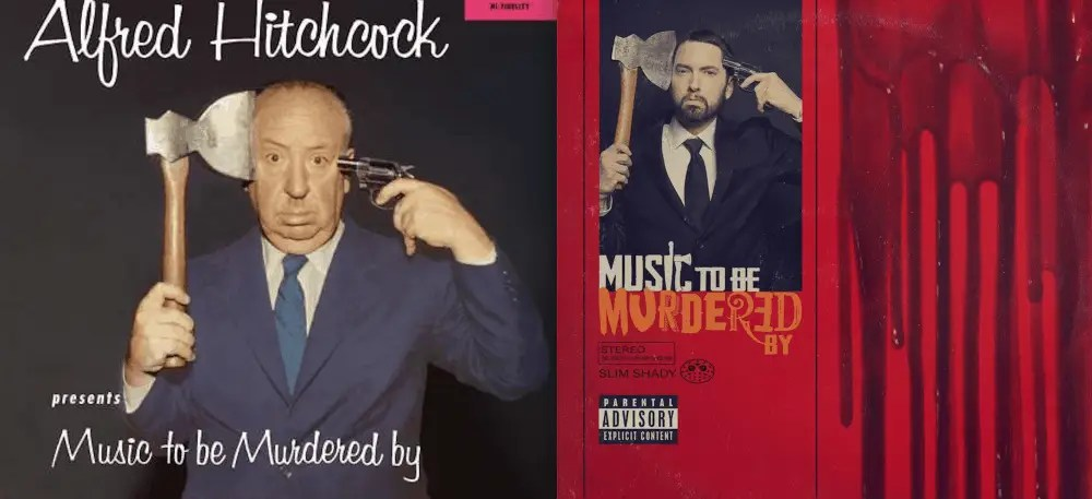 "Comparaison Eminem - Hitchcock ""Music to be Murdered by"""